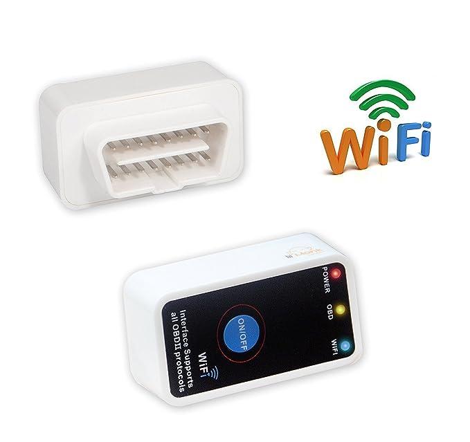 Lil monje OBD2 escáner WiFi OBD 2 herramienta de detección Compatible con iOS Android dispositivos de Windows OBD2 Wifi - multifuncional lector de código ...