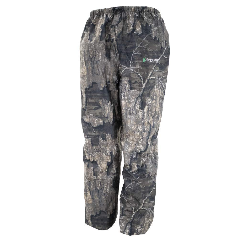 Frogg Toggs Pro Action Waterproof Rain Pant, Realtree Timber, XXX-Large by Frogg Toggs