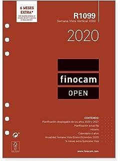 Finocam - Recambio Anual 2020 semana vista apaisada Open ...