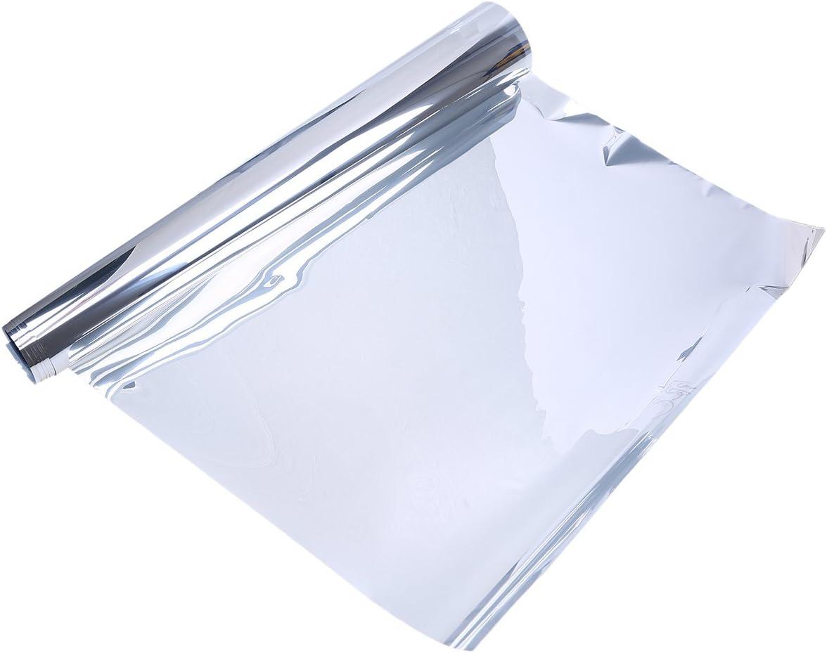 fen/être Film teint/é WCIC isolant aux UV /à 90/% 78.74 en PET maison Silver pour voiture