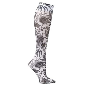 7b5aae00163 Image Unavailable. Image not available for. Color  Celeste Stein Moderate  Compression Knee High Stockings Wide Calf-Black Paris