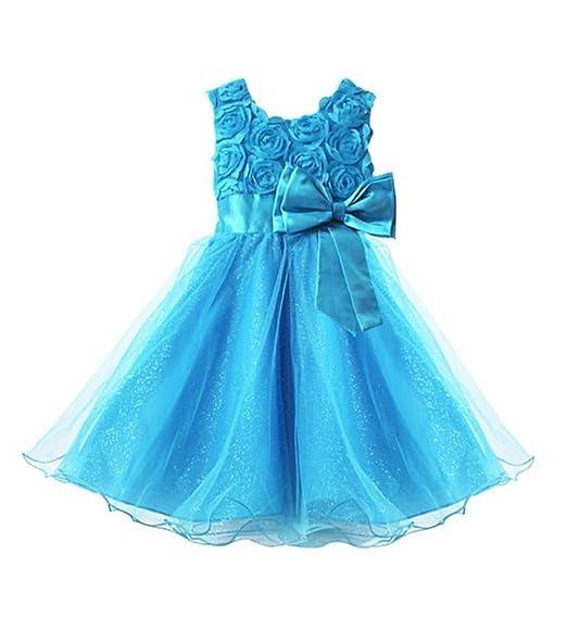 0e00a048bb793 Live It Style It Fille Fleur Demoiselle d honneur Mariage Tenue Habillée  Fête Robe de