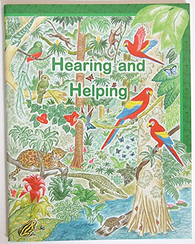 ''Hearing and Helping'' - Rod and Staff Preschool Workbook G-H-I Series by Rod and Staff