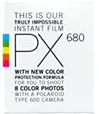 Impossible PX 680 Color Protection Sofortbildfilm (8 Aufnahmen) für Polaroid 600