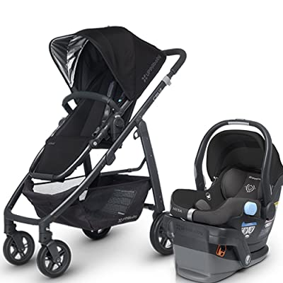 Uppa Baby Cruz Stroller w Mesa Infant Car Seat Review