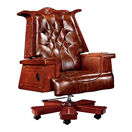 Admirable J Km Executive Chair President Chair Vintage Wood Reclining Leather Boss Chair Managerial Chairs Computer Chair Office Chair 360 Degree Swivel For Gamerscity Chair Design For Home Gamerscityorg