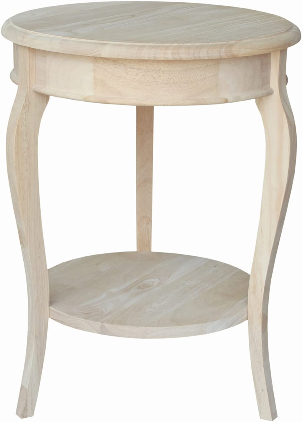 International Concepts Cambria Round End Table, 14.5 by 14.5-Inch