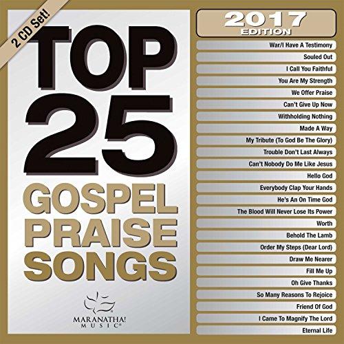 Price comparison product image Top 25 Gospel Praise Songs 2017 [2 CD]
