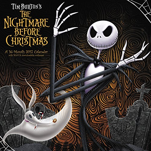 The Nightmare Before Christmas Wall Calendar (2017) ()