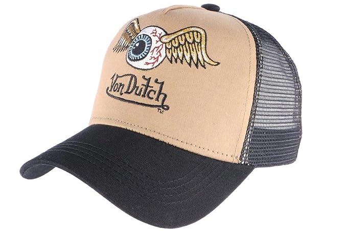 Von Dutch - Gorra de béisbol - para Hombre marrón Talla única