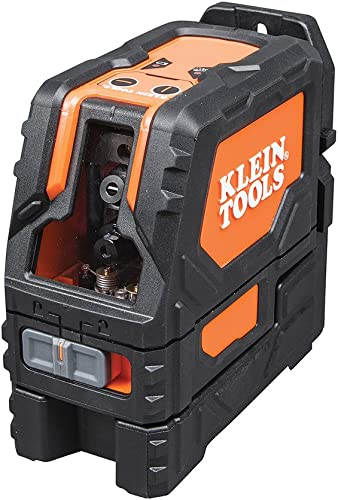 Magnetic Laser Level Self-Leveling Cross-Line with 360-Degree Mounting – Wall and Line Laser Klein Tools 93LCL