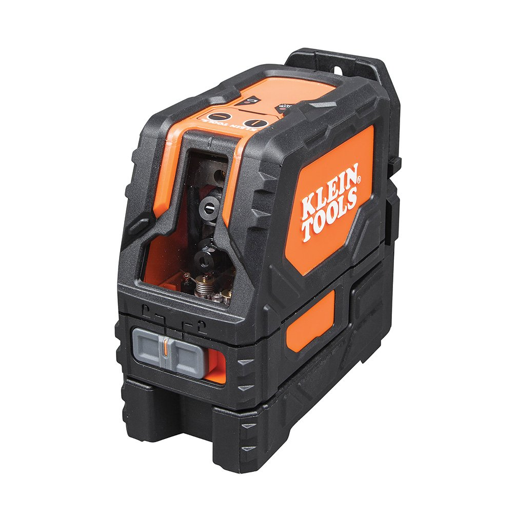 Magnetic Laser Level Self-Leveling Cross-Line with 360˚ Mounting - Wall and Line Laser (Klein Tools 93LCL)