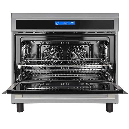 Cocina independiente con placa de inducción (90 cm, 11,4 kW ...