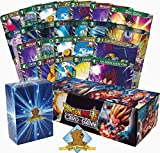 Random Dragon Ball Lot! 500 Dragon Ball Cards Featuring A Super Rare! Includes Rares in Every Bundle! Includes Golden Groundhog Deck Box! Comes In Dragon Ball Storage Box!