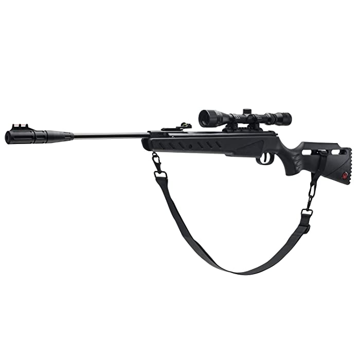 5. Umarex 3-9X32 Scope Ruger Targis Hunter .22 Air Gun Combo, Black