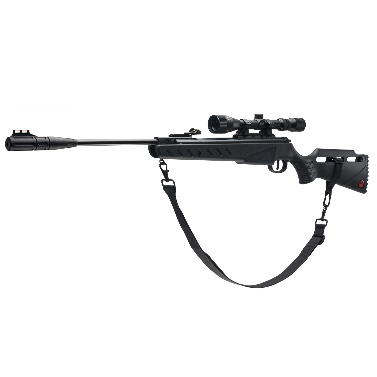 Ruger Targis Hunter .22  Caliber Pellet Air Gun Combo, Black