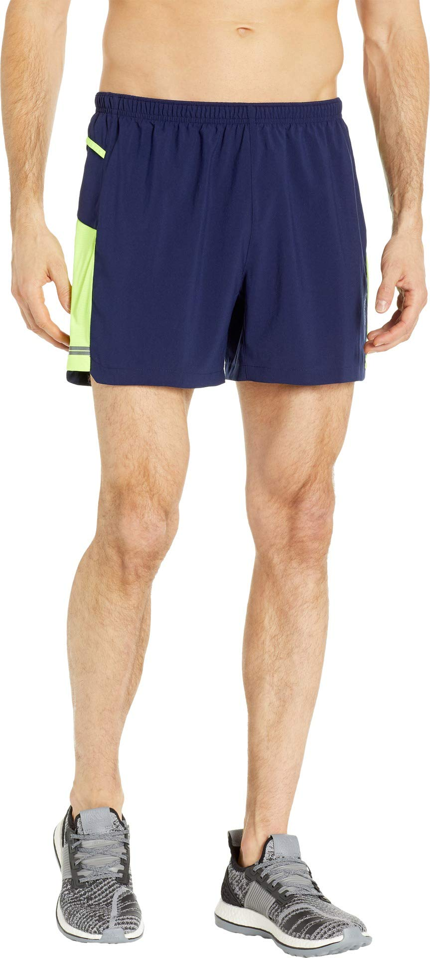 Brooks Men's Sherpa 5'' Shorts Navy/Nightlife Medium 5