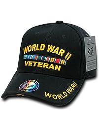 Rapiddominance WWII Vet DeLuxe Military Cap 13324921b122