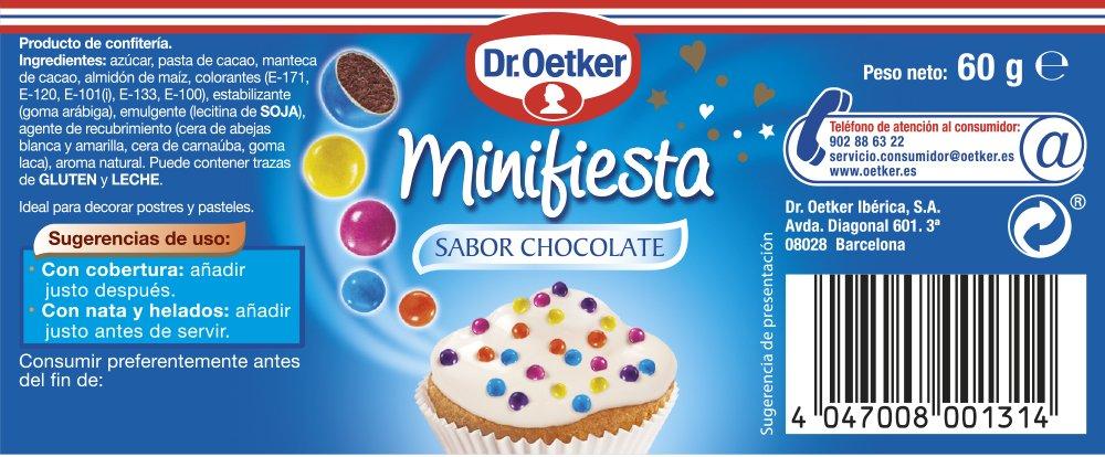 Dr.Oetker- Minifiesta Sabor Choco Dr.Oetker: Amazon.es: Alimentación y bebidas