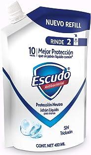 Escudo Jabón Líquido Refill para Manos, 450 ml