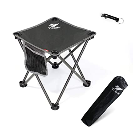 Brilliant Small Folding Camping Stool Lightweight Chairs Portable Seat For Adults Fishing Hiking Gardening And Beach With Carry Bag Uwap Interior Chair Design Uwaporg