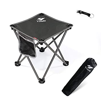 Awe Inspiring Small Folding Camping Stool Lightweight Chairs Portable Seat For Adults Fishing Hiking Gardening And Beach With Carry Bag Ncnpc Chair Design For Home Ncnpcorg