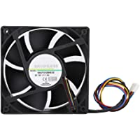 Cooling Fan, 12V Cooling Fan Cooler, Eliminates Noise Design Stable with Double Ball Bearing, 4000RPM Durable Garden…