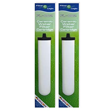 pack of 2 compatible multistage ceramic water filter cartridges to fit franke triflow u0026 - Ceramic Water Filter