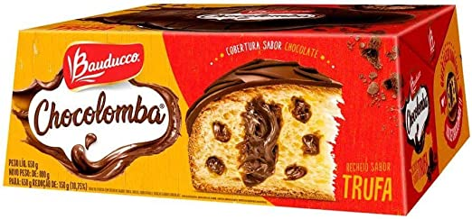 Colomba Pascal Recheada Sabor Trufa 650g - Bauducco: Amazon.com.br: Alimentos e Bebidas