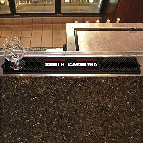 FANMATS NCAA University of South Carolina Gamecocks Vinyl Drink Mat