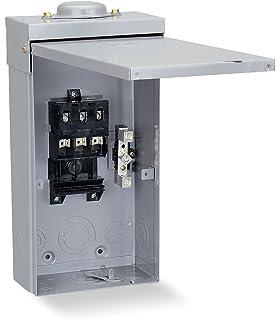 SCHNEIDER ELECTRIC Molded Case Circuit Breaker 240-Volt 125-Amp QBA32125 Panelboard Cover//Trim Iline 4Pc S 86H