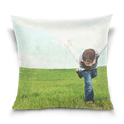 Amazon.com: CLveg Flying Wings Pillowcase Soft Cotton Sofa ...