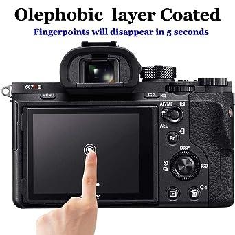 Protector de Pantalla para cámara Sony Alpha A7R III/A7R II/A7 III ...