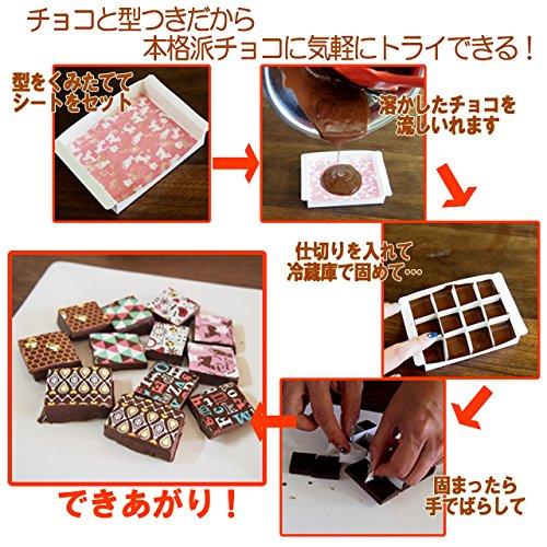チョコ付!チョコプリントシートキット さくら【ココナッツキッス】【夏期クール】
