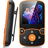 32GB Clip Jam MP3 Player, AGPTEK Bluetooth 5.0 Portable Music Player HiFi Lossless Sound with FM Radio, Voice Recorder…
