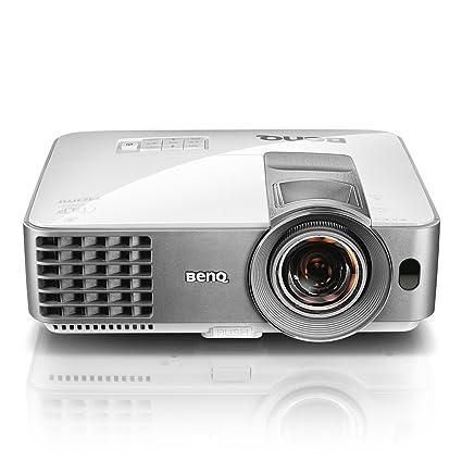 "BenQ MW632ST - Proyector DLP Tiro Corto (65"" a 1 m, WXGA, Zoom 1.2X, 3200 lumens, Altavoz 10X Incorporado, HDMI) Color Blanco"