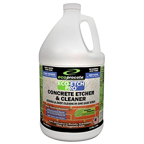 Eco-Etch Pro Concrete cleaner