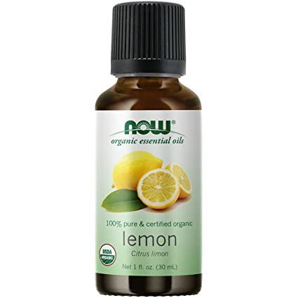 Amazon Com Now Essential Oils Organic Lemon Oil Cheerful Aromatherapy Scent Cold Pressed 100 Pure Vegan Child Resistant Cap 1 Ounce Beauty
