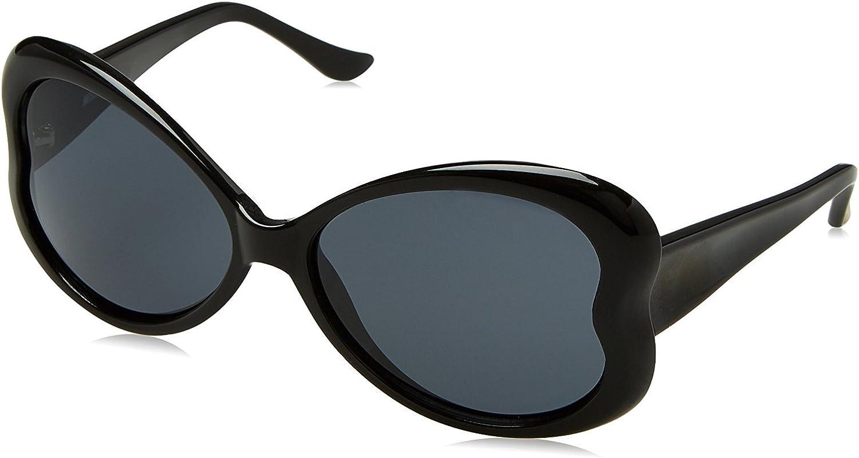Moschino MO-59806-S Gafas de sol, Black, 58 para Mujer