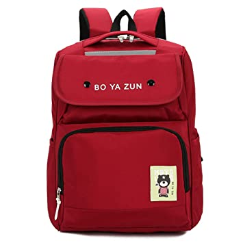 Fashion Boys and Girls School Backpack, Unisex Travel Sports Shoulder Bag Daypack, Water Resistant