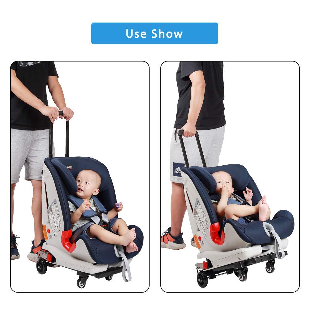 Amazon.com: Carrito de viaje para asiento de coche ...