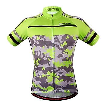 FLAMEER Bonita Camiseta Reflectante de Ciclismo para Hombre y Mujer Multifuncionales para Actividades al Aire Libre: Amazon.es: Deportes y aire libre