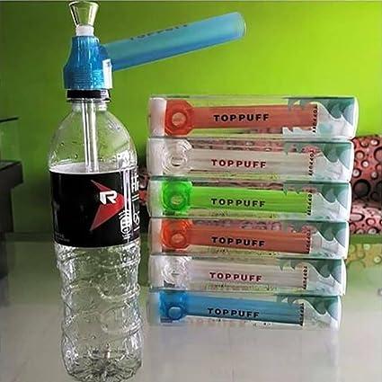 YUYOUG Portátil 2 en 1 Tubo de Agua Tornillo en botella Convertidor On-the-