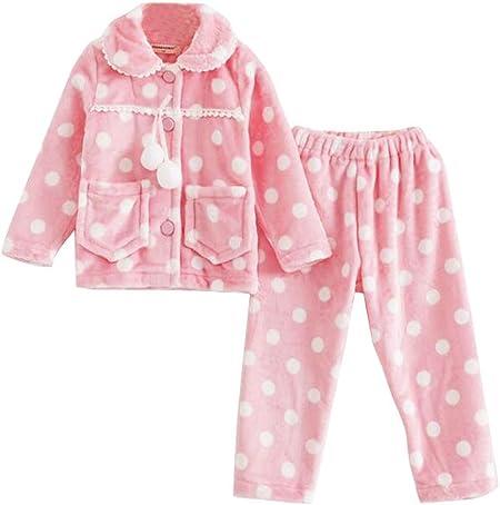 Lovely Dots Caliente Otoño E Invierno Pijamas Moda Niñas ...