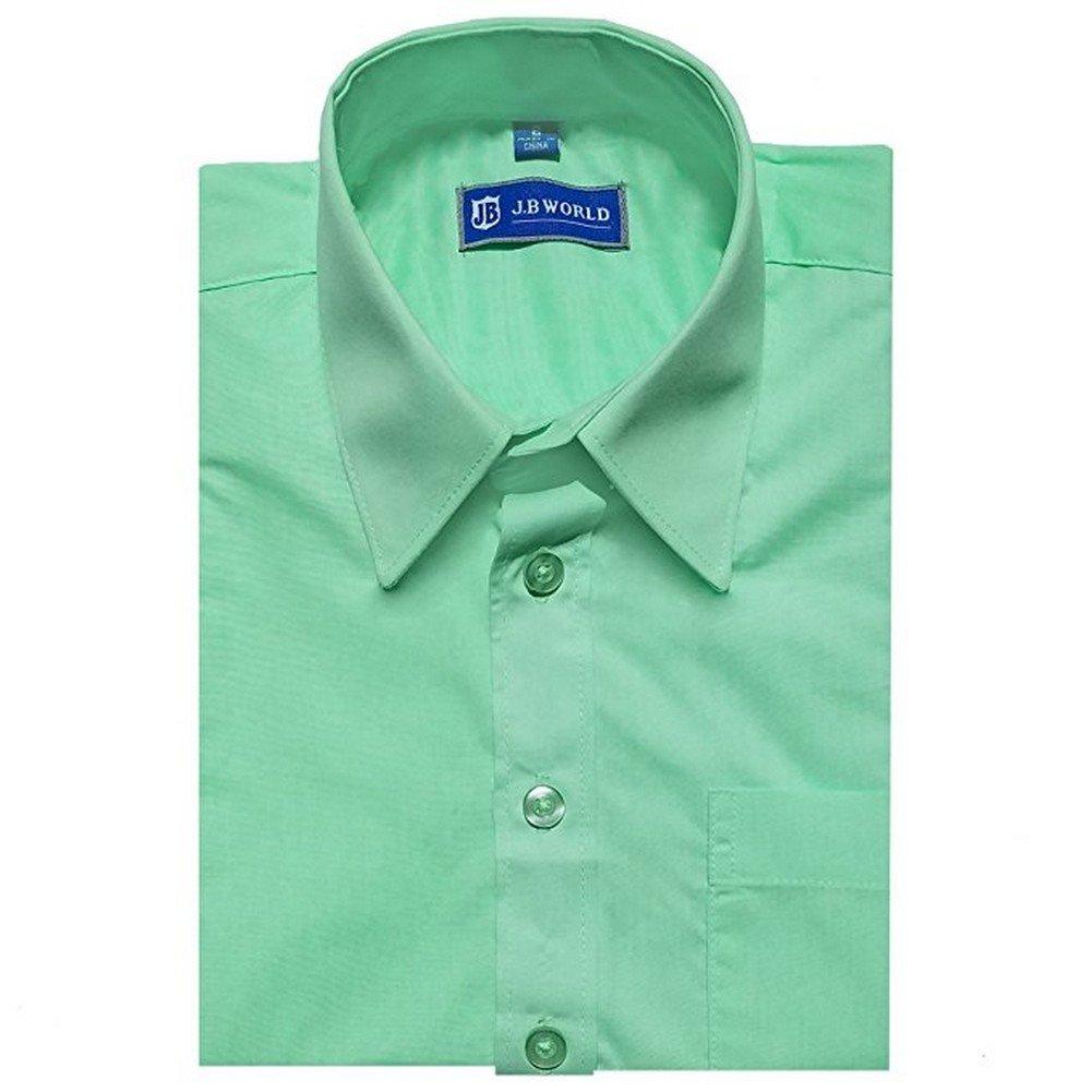 Amazon Jb World Big Boys Mint Long Sleeve No Button Collar
