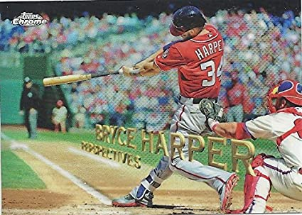 Bryce Harper Perspectives Collectible Baseball Card 2016 Topps