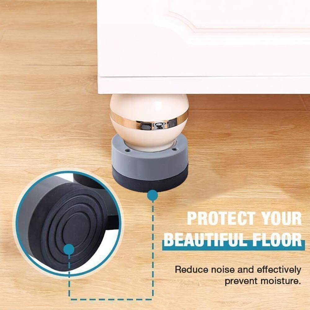 4PCS 4cm Anti-slip And Noise-reducing Washing Machine Feet