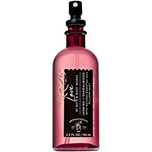 Bath and Body Works LOVE - JASMINE SANDALWOOD Pillow Mist 5.3 Fluid Ounce