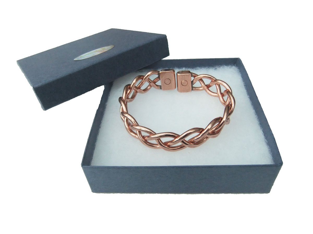 Amazing Health Heavy Lace Magnetic and Copper Bracelet