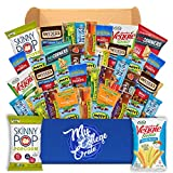 My College Crate Ultimate Healthy Snack Care Package for College Students - Variety Assortment of Healthy Snacks (40 Snacks) - The Healthy College...